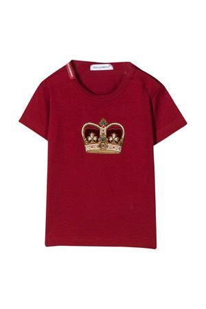 Red t-shirt Dolce & Gabbana kids  Dolce & Gabbana kids | 8 | L1JT6SG7VJSR0226