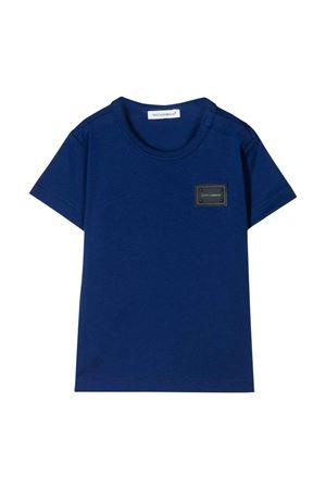 Blue t-shirt Dolce & Gabbana kids  Dolce & Gabbana kids | 8 | L1JT7TG7OLKB0232
