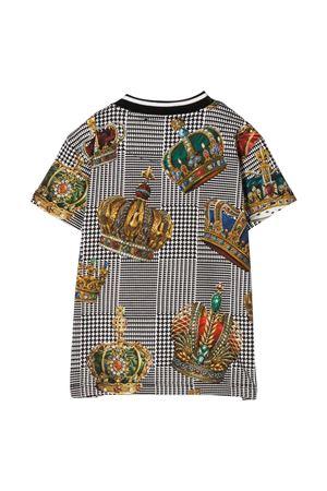 T-shirt Prince of Wales Dolce & Gabbana kids  Dolce & Gabbana kids | 8 | L1JTBKG7VYIHH20E