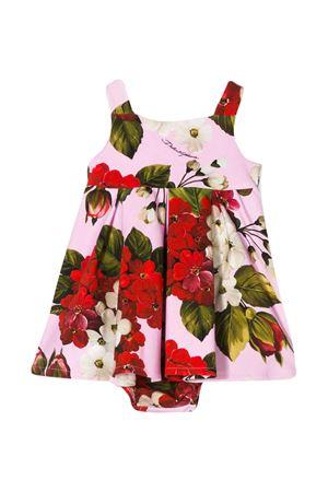 Abito rosa con stampa multicolor Dolce & gabbana kids Dolce & Gabbana kids | 11 | L2JD0SFSGTDHF1BM
