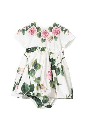 White dress woth flowers press Dolce & Gabbana kids Dolce & Gabbana kids | 11 | L2JDZ1G7VXWHA96C