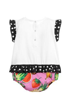 Pagliaccetto con stampa multicolor Dolce&Gabbana kids Dolce & Gabbana kids | -1617276553 | L2JOT2G7WRES9000