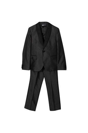 Completo due pezzi nero a pois Dolce & Gabbana kids | 42 | L41U66FJ1HHS8350