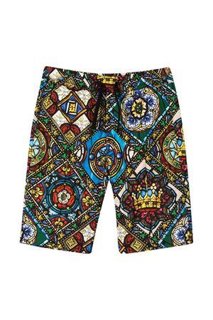 Bermuda con stampa multicolor Dolce&Gabbana kids Dolce & Gabbana kids | 5 | L42Q52HS5GLHH94C