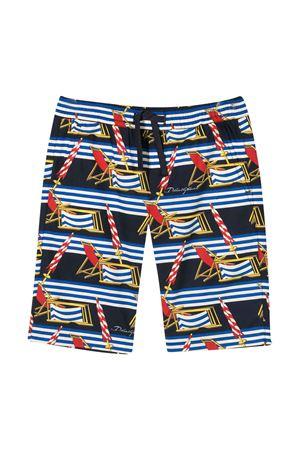 Costume da bagno con stampa Dolce&Gabbana kids Dolce & Gabbana kids | 85 | L42Q64HS5GSHB53D