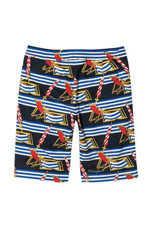 Swimsuit with multicolor press Dolce&Gabbana kids Dolce & Gabbana kids | 85 | L42Q64HS5GSHB53D