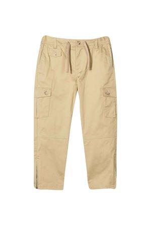 Pantaloni cargo beige con coulisse Dolce & Gabbana kids Dolce & Gabbana kids | 9 | L43P26FUFJRM0299