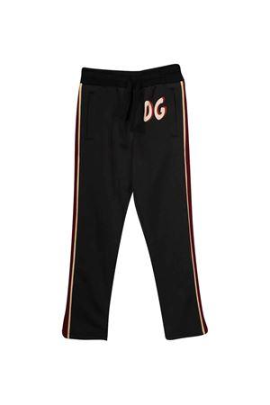 Dolce & Gabbana kids black trousers Dolce & Gabbana kids | 9 | L4JPBBG7WGNHN1SB