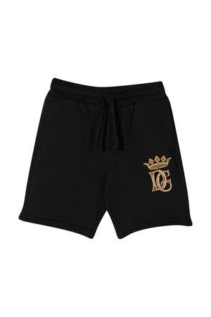 Bermuda neri con logo frontale Dolce&Gabbana kids Dolce & Gabbana kids | 5 | L4JQG6G7WGGN0000