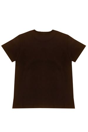 T-shirt marrone con stampa frontale Dolce&Gabbana kids Dolce & Gabbana kids | 8 | L4JT6SG7WGEHK1PE