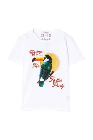 T-shirt bianca con stampa multicolor Dolce&Gabbana kids Dolce & Gabbana kids | 8 | L4JT6SG7WGKHW1SC