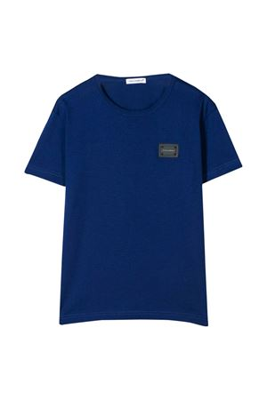 Blue t-shirt Dolce & Gabbana kids  Dolce & Gabbana kids | 8 | L4JT7TG7OLKB0232