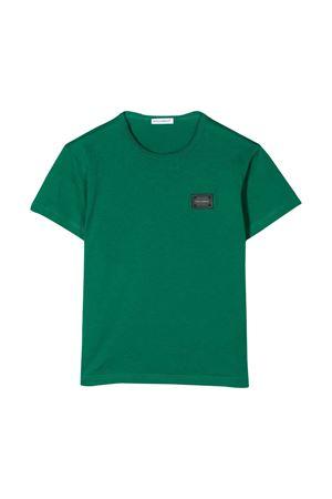 Green t-shirt Dolce & Gabbana kids  Dolce & Gabbana kids | 8 | L4JT7TG7OLKV0402