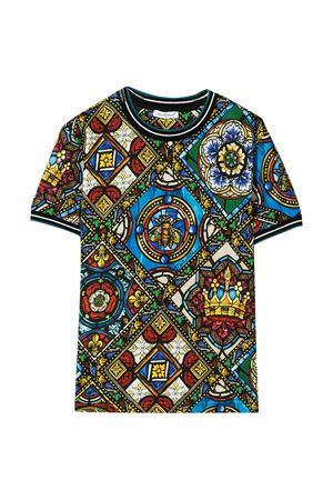 Multicolor t-shirt Dolce & Gabbana kids  Dolce & Gabbana kids | 8 | L4JT8AHS7AIHH94C