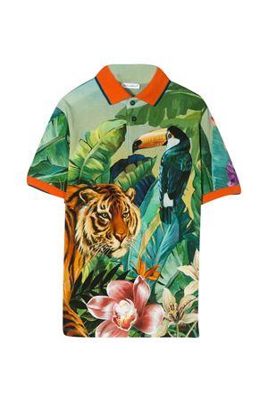 Multicolor Dolce & Gabbana kids polo shirt  Dolce & Gabbana kids | 2 | L4JT8VG7WFZHH1QV