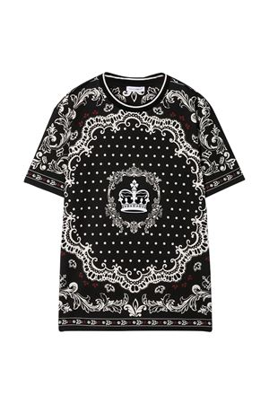 Black T-shirt Dolce & Gabbana kids  Dolce & Gabbana kids   8   L4JT9AG7VGNHN63C