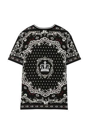 T-shirt nera Dolce & Gabbana kids Dolce & Gabbana kids | 8 | L4JT9AG7VGNHN63C