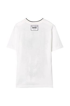 T-shirt bianca Dolce & Gabbana kids Dolce & Gabbana kids | 8 | L4JT9AG7VGOHA03E