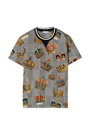 T-shirt Prince of Wales Dolce & Gabbana kids  Dolce & Gabbana kids | 8 | L4JTBKG7VYIHH20E