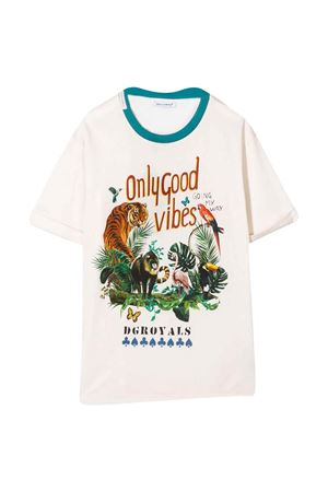 Cream-colored t-shirt Dolce & Gabbana kids Dolce & Gabbana kids | 8 | L4JTBMG7WGJHA1SE