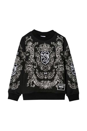 Black sweatshirt Dolce & Gabbana kids  Dolce & Gabbana kids | -108764232 | L4JW0KG7VGPHA03E