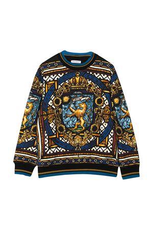 Felpa con stampa multicolor Dolce&Gabbana kids Dolce & Gabbana kids | -108764232 | L4JW7OG7VITHH84C