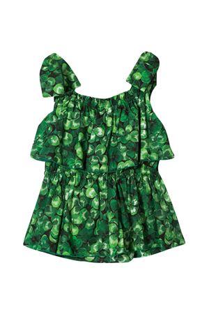 Green top with leaf  press Dolce & Gabbana kids Dolce & Gabbana kids | 40 | L51N39HS5GCHN1AN