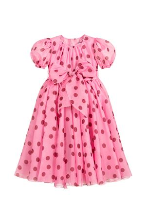 Pink dress with red pois Dolce&Gabbana kids Dolce & Gabbana kids | 11 | L52DB5HS19ZHF96R