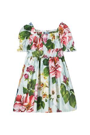 White dress with multicolor press Dolce&Gabbana kids Dolce & Gabbana kids | 11 | L52DE5HS5GBHC1AM