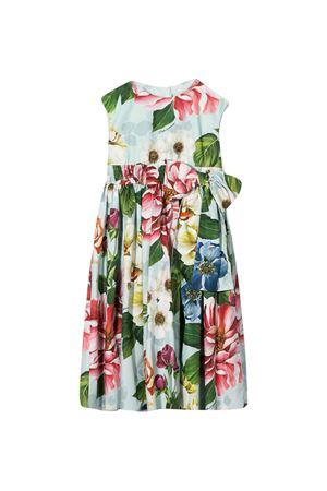 Abito bianco con stampa fiori multicolor Dolce&Gabbana kids Dolce & Gabbana kids | 11 | L52DE8HS5GBHC1AM