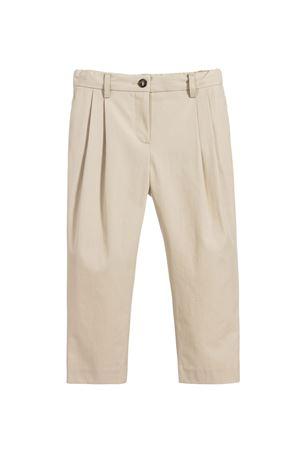 Beige trousers Dolce&Gabbana kids Dolce & Gabbana kids | 9 | L52P83FU6WEM0131