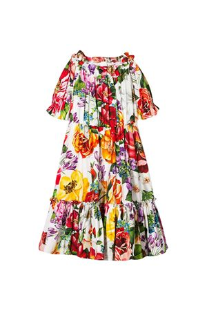 Abito con stampa floreale Dolce&Gabbana kids Dolce & Gabbana kids | 11 | L59D72HS5F9HA1AK