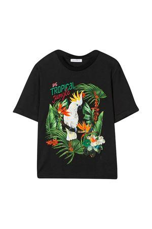 Black t-shirt with frontal press Dolce & Gabbana kids Dolce & Gabbana kids | 8 | L5JTAZG7WQZHX1RE