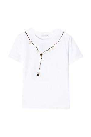 White t-shirt Dolce & Gabbana kids  Dolce & Gabbana kids | 8 | L5JTBOG7VWFW0800
