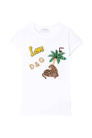 White Dolce & Gabbana kids t-shirt  Dolce & Gabbana kids | 8 | L5JTCVG7WOPW0800