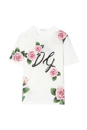White t-shirt Dolce & Gabbana kids  Dolce & Gabbana kids | 8 | L5JTEVG7VXYHA96C