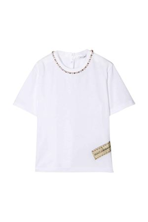 White t-shirt Dolce & Gabbana kids  Dolce & Gabbana kids | 8 | L5JTEZG7VWQW0800