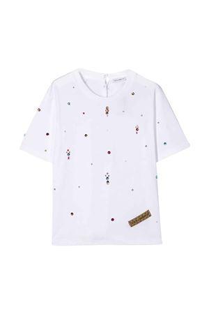 White t-shirt Dolce & Gabbana kids  Dolce & Gabbana kids | 8 | L5JTEZG7WCYW0800