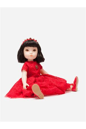 Doll with lace dress Dolce&Gabbana kids Dolce & Gabbana kids | 90000011 | LCJA18G7VAWS9000