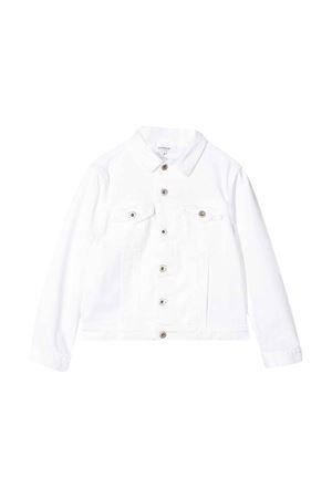 Dondup kids white denim jacket DONDUP KIDS | 13 | BJ172BSE027PTD000