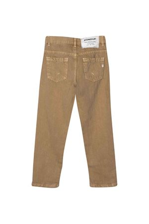 Pantaloni Dondup kids sabbia DONDUP KIDS | 9 | BP215BFE013EPT029