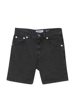 Dondup Kids bermuda shorts in black denim DONDUP KIDS | 5 | BP253GSE046PTD992