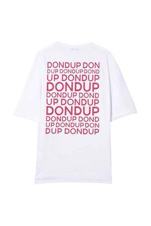 White Dondup Kids T-shirt  DONDUP KIDS | 5032307 | BS138JY0007BZA19000