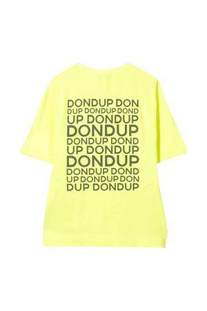 T-shirt gialla Dondup kids teen DONDUP KIDS | 5032307 | BS138JY0016BZA19UNIT