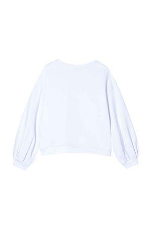 White teen Dondup kids sweatshirt  DONDUP KIDS | -108764232 | YF051FY0011ZA30000