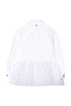 Dondup Kids white denim jacket DONDUP KIDS | 13 | YJ237BSE027PTDW000