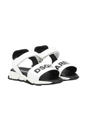 White Dsquared2 kids sandals  DSQUARED2 KIDS   12   63438VAR2