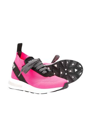 Teen fuchsia sneakers with logo DSQUARED2 kids DSQUARED2 KIDS | 12 | 63518VAR2T
