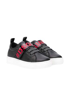 Black teen Dsquared2 kids sneakers  DSQUARED2 KIDS | 12 | 63526VAR1T