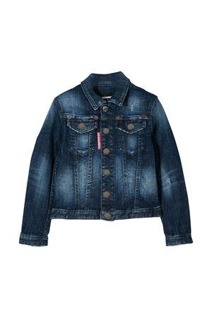 Giubbino jeans blu Dsquared2 kids t DSQUARED2 KIDS | 3 | DQ01GTD00YADQ01T